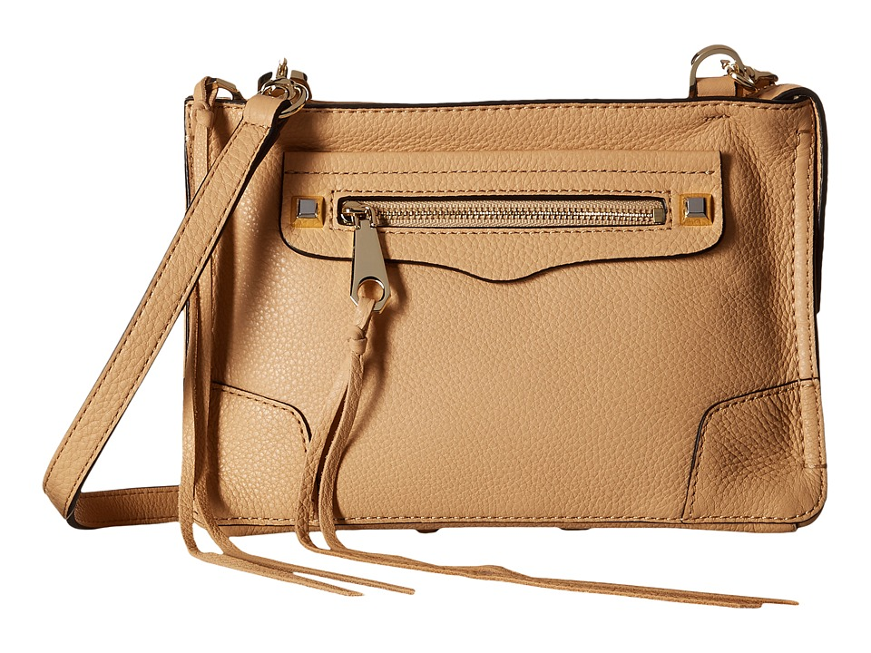 Rebecca Minkoff - Regan Crossbody (Biscuit) Cross Body Handbags