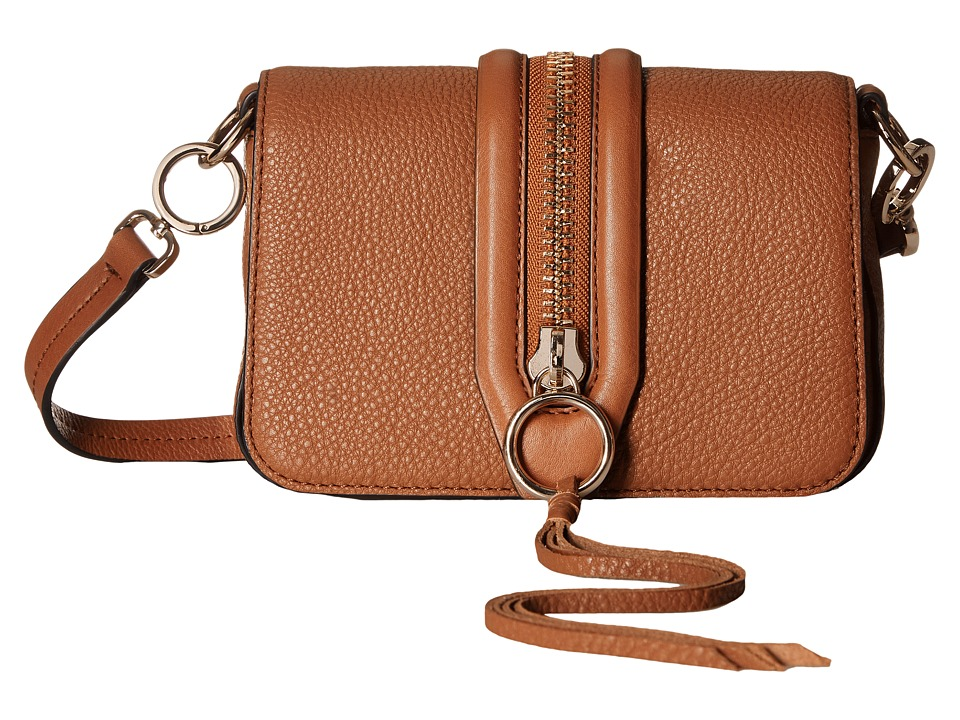 Rebecca Minkoff - Mini Mara Crossbody (Almond) Cross Body Handbags