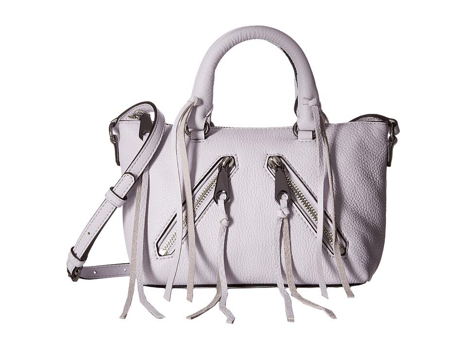 Rebecca Minkoff - Micro Moto Satchel (Pale Lilac) Satchel Handbags