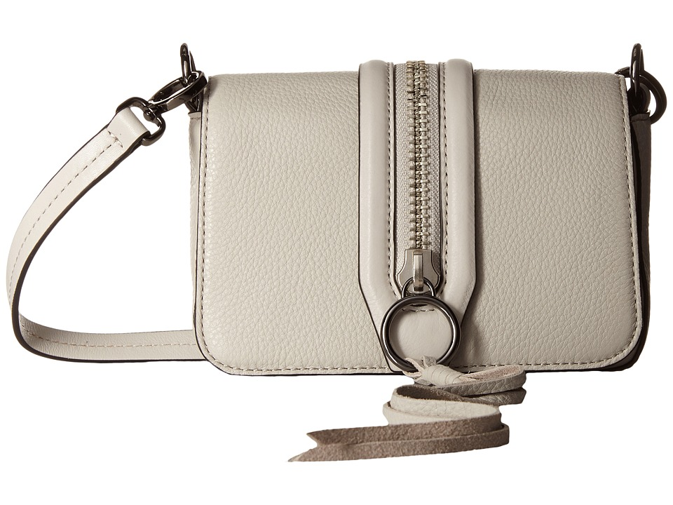 Rebecca Minkoff - Mini Mara Crossbody (Putty) Cross Body Handbags