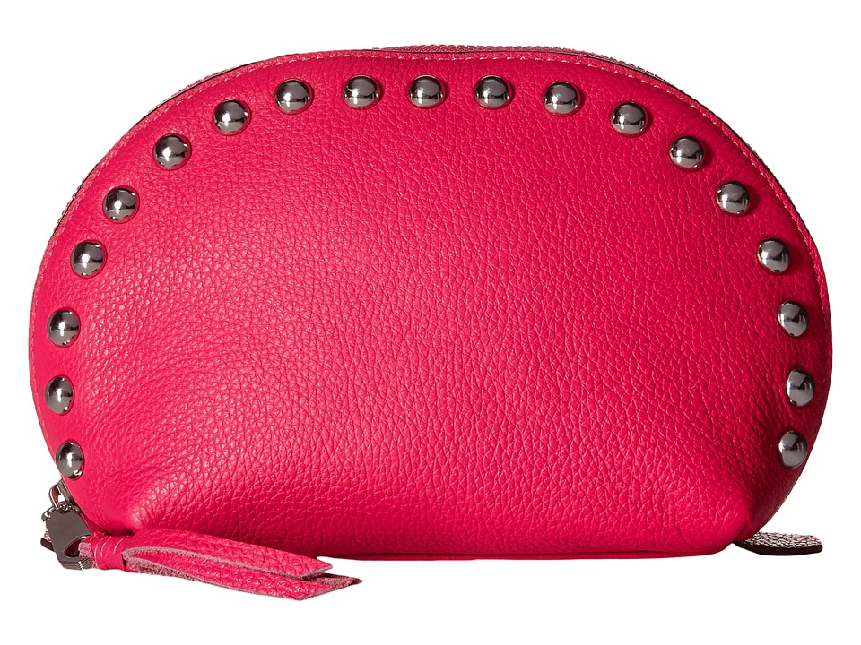 Rebecca Minkoff - Dome Pouch with Studs (Flamingo) Clutch Handbags