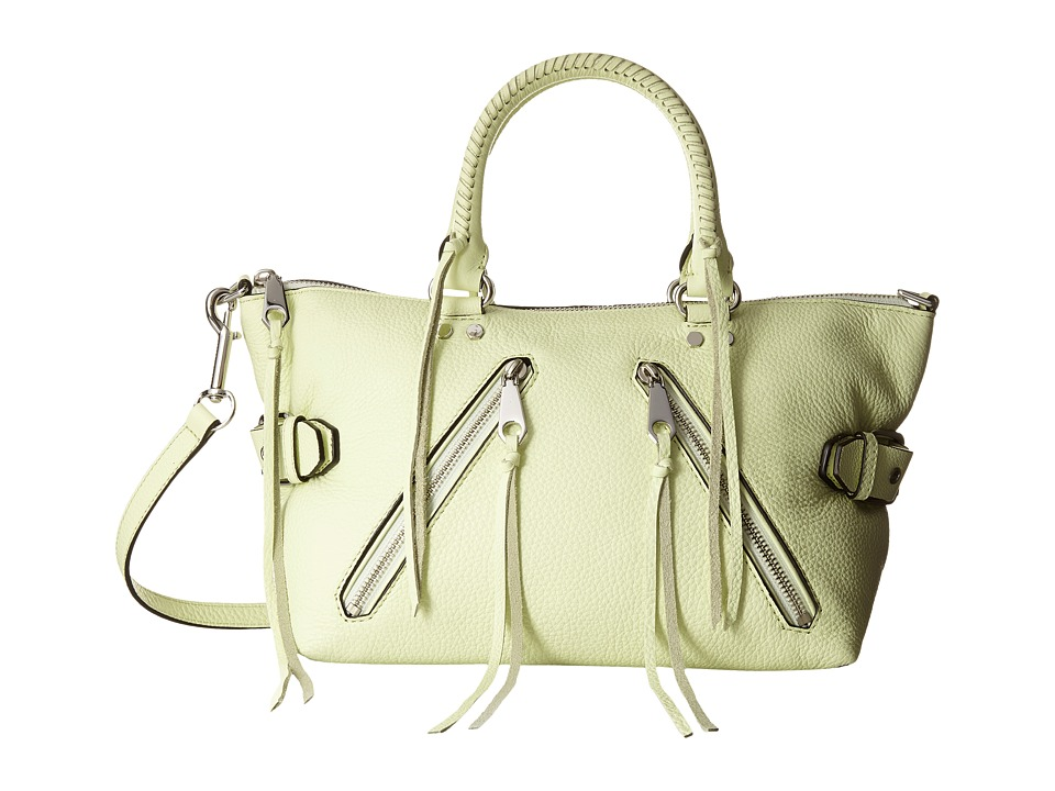 Rebecca Minkoff - Moto Satchel Tote (Honey Dew) Tote Handbags