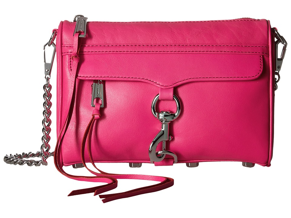 Rebecca Minkoff - Mini Mac (Flamingo) Cross Body Handbags
