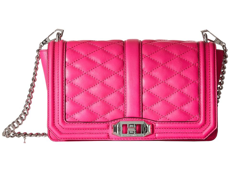 Rebecca Minkoff - Love Crossbody (Flamingo) Cross Body Handbags