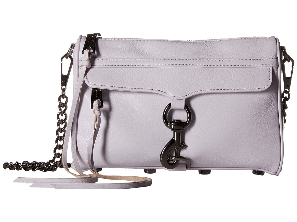 Rebecca Minkoff - Mini Mac (Pale Lilac) Cross Body Handbags