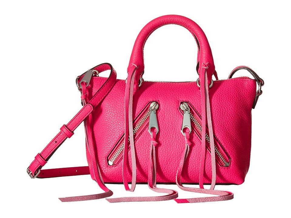 Rebecca Minkoff - Micro Moto Satchel (Flamingo) Satchel Handbags