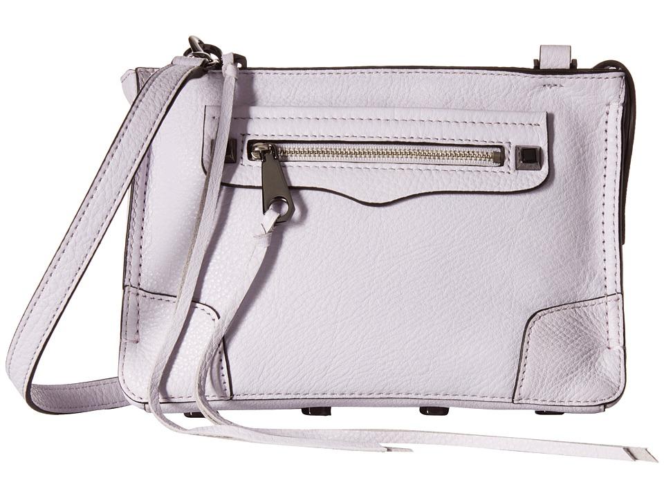 Rebecca Minkoff - Regan Crossbody (Pale Lilac) Cross Body Handbags