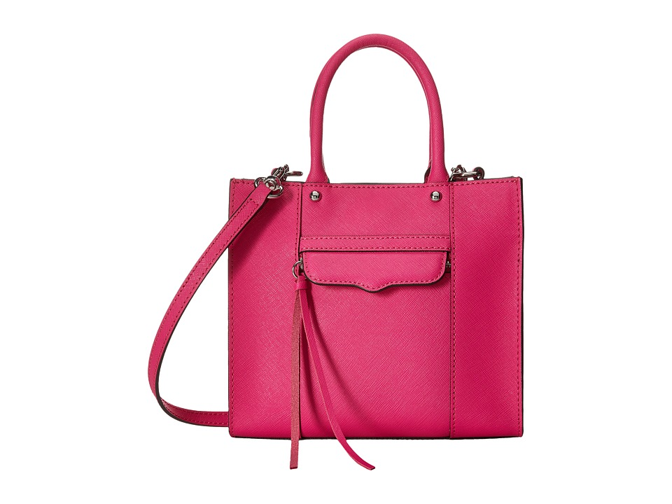 Rebecca Minkoff - Side Zip Mab Tote Mini (Flamingo) Tote Handbags