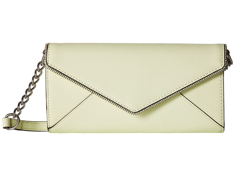 Rebecca Minkoff - Cleo Wallet on a Chain (Honey Dew) Wallet Handbags
