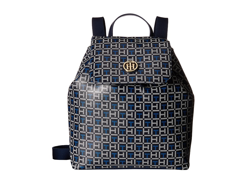 Tommy Hilfiger - Ivy - Backpack - Logo (Navy/White) Backpack Bags