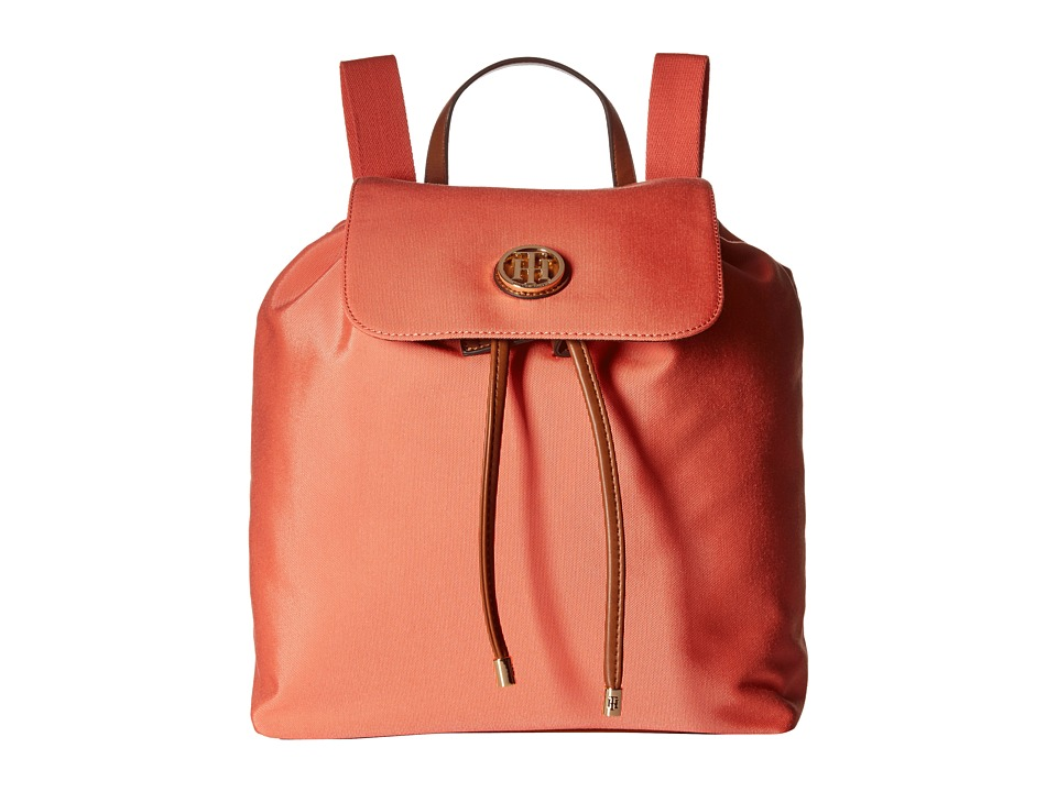 Tommy Hilfiger - Ivy - Backpack - Nylon (Coral) Backpack Bags