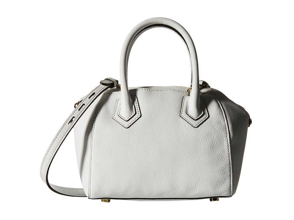 Rebecca Minkoff - Micro Perry Satchel (White) Satchel Handbags
