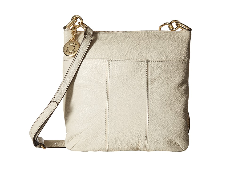 Tommy Hilfiger - TH Signature - Crossbody - Pebble (Oatmeal) Cross Body Handbags