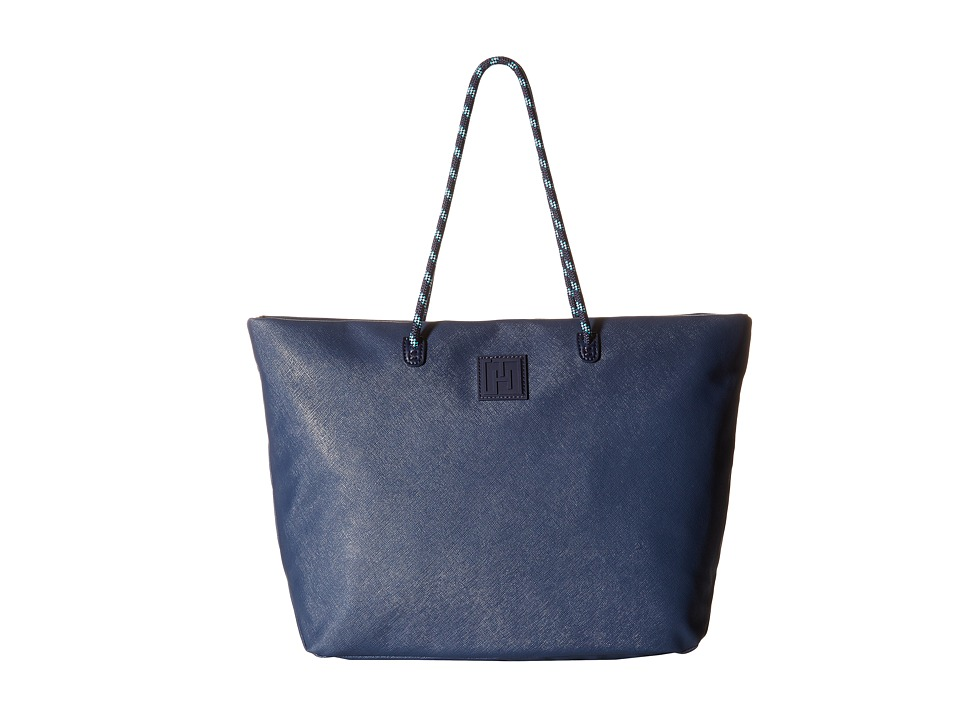 Tommy Hilfiger - Tommy Hilfiger Sport - Tote Story - Sporty Textured Small Tote (Navy) Tote Handbags