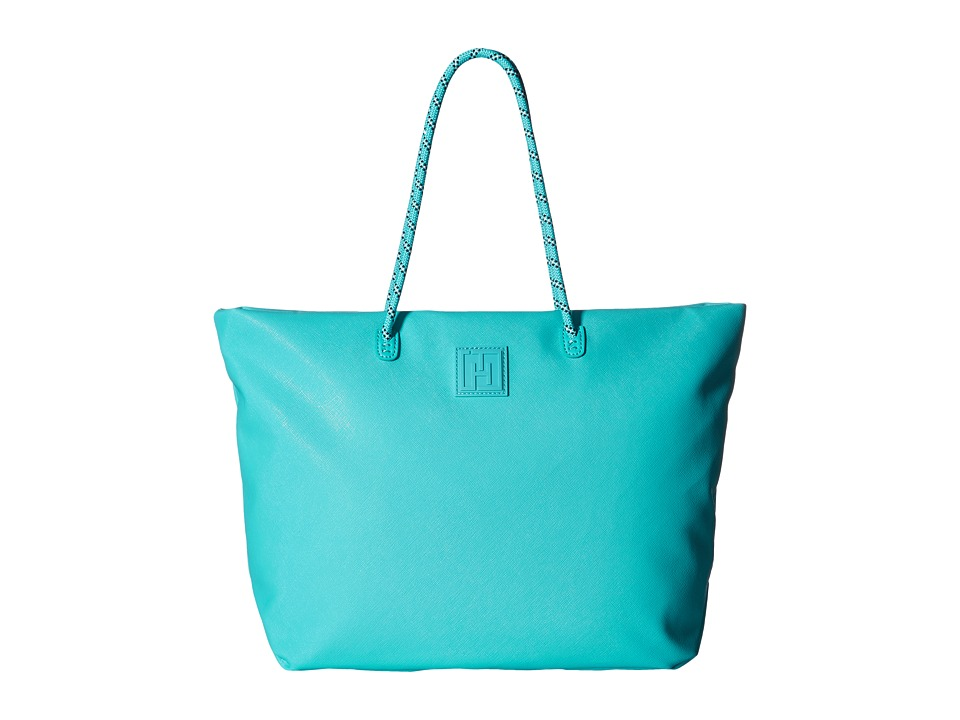 Tommy Hilfiger - Tommy Hilfiger Sport - Tote Story - Sporty Textured Small Tote (Scuba Blue) Tote Handbags