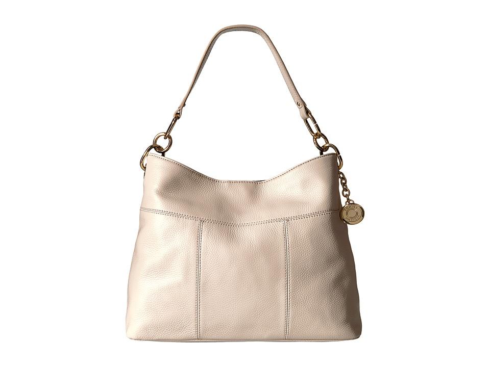 Tommy Hilfiger - TH Signature - Small Hobo - Pebble (Oatmeal) Hobo Handbags