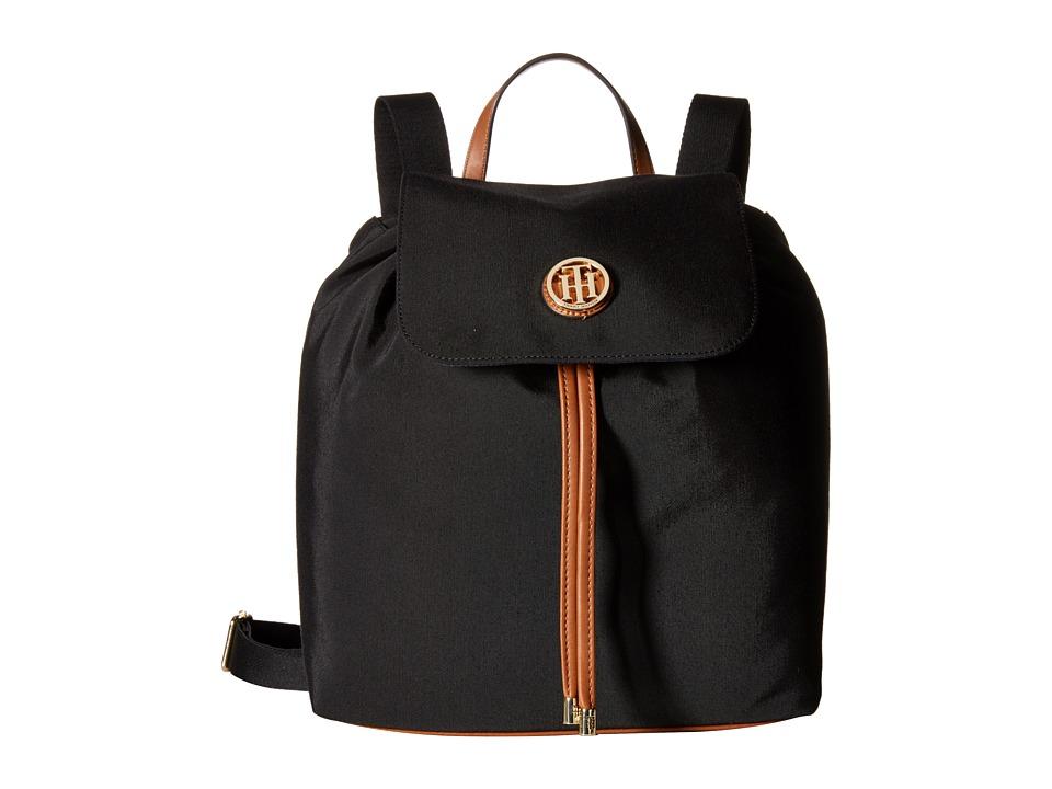 Tommy Hilfiger - Ivy - Backpack - Nylon (Black) Backpack Bags