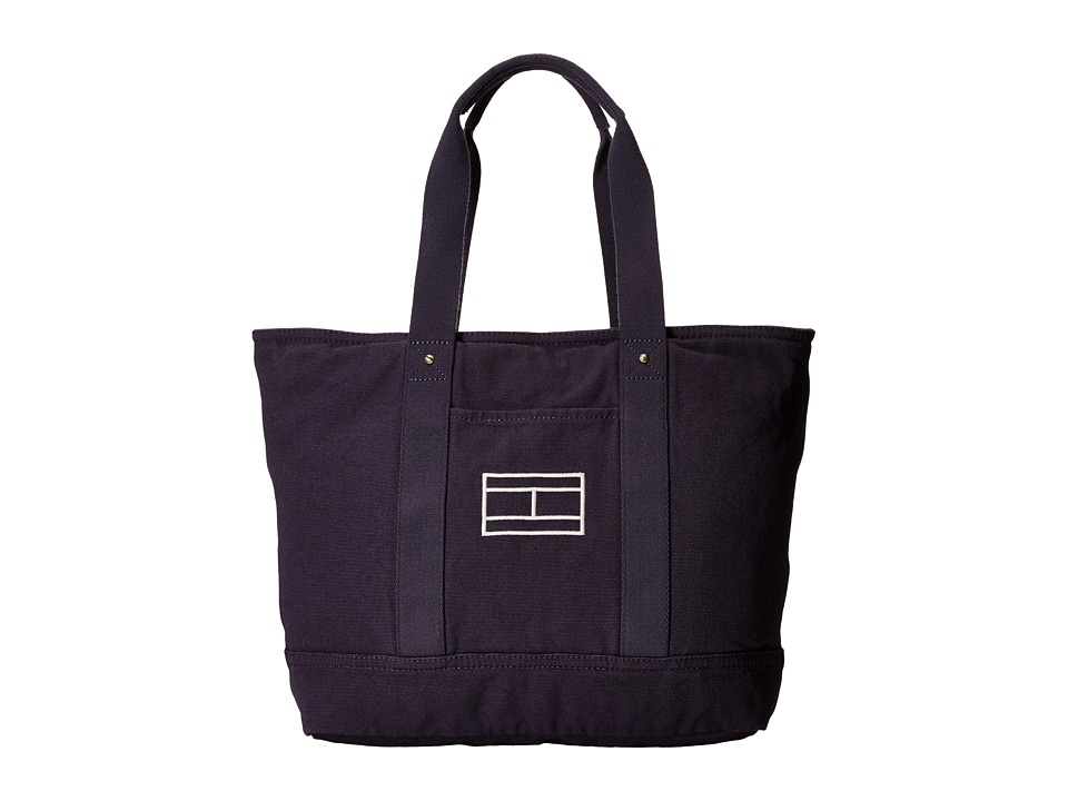 Tommy Hilfiger - Item Tote - Canvas Tote (Tommy Navy) Tote Handbags