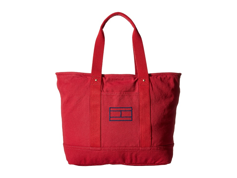 Tommy Hilfiger - Item Tote - Canvas Tote (Tommy Red) Tote Handbags