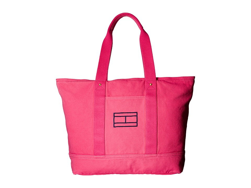 Tommy Hilfiger - Item Tote - Canvas Tote (Pink) Tote Handbags
