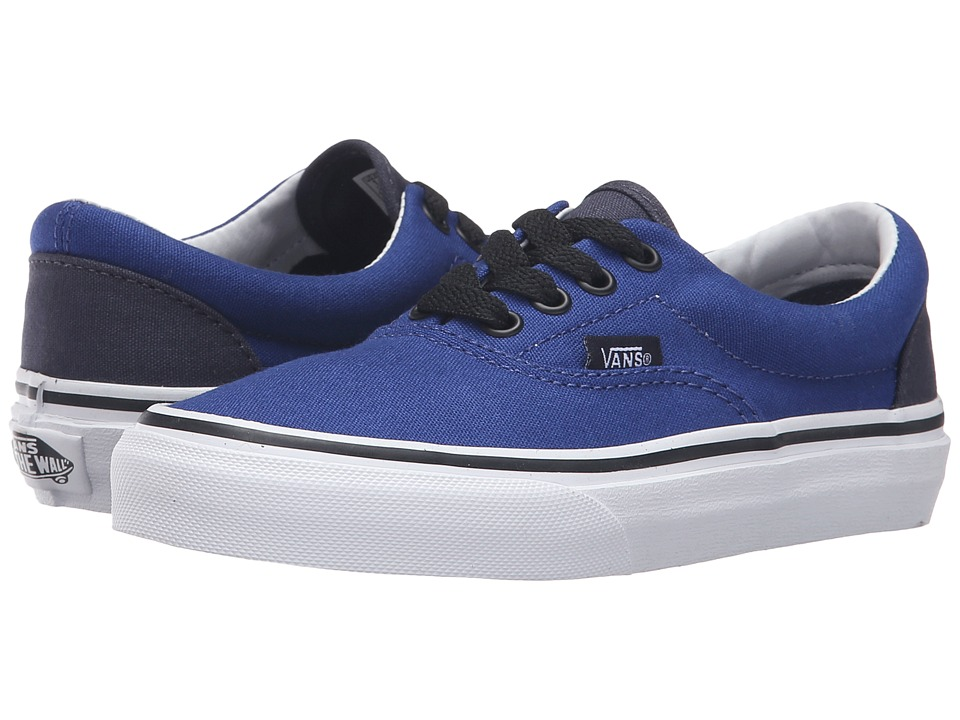 Vans Kids - Era (Little Kid/Big Kid) ((Pop) Sodalite Blue/Parisian Night) Boys Shoes