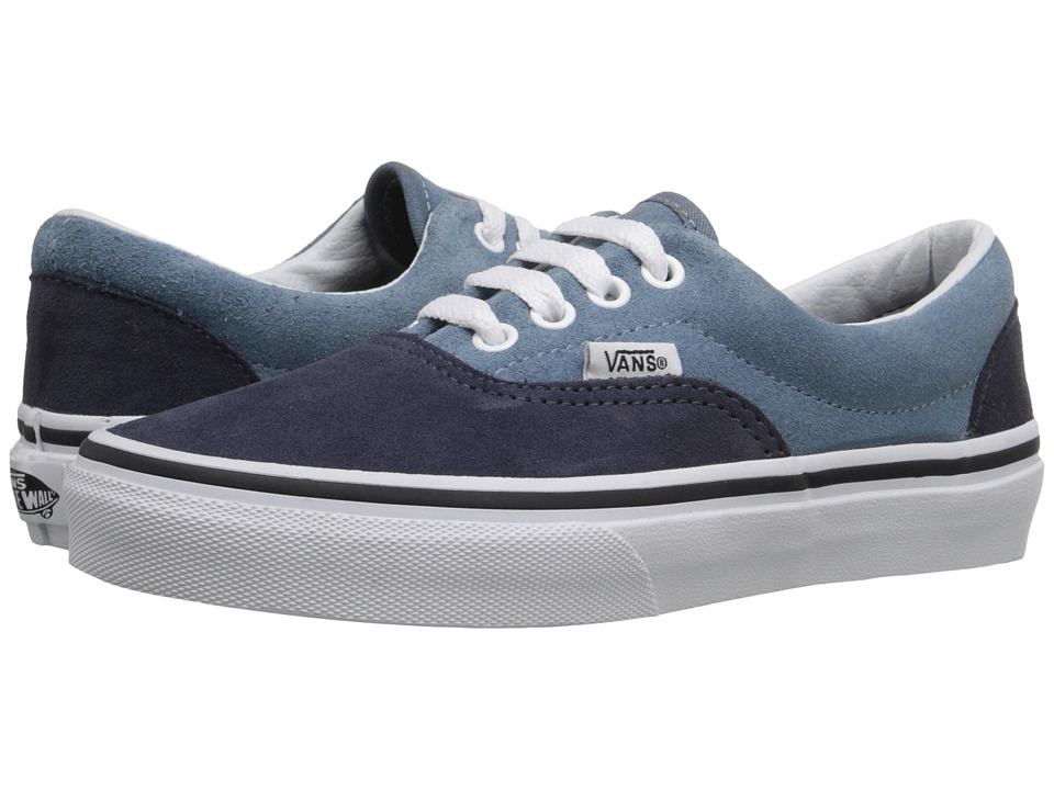 Vans Kids - Era (Little Kid/Big Kid) ((Suede) Blue Mirage/Parisian Night) Boys Shoes