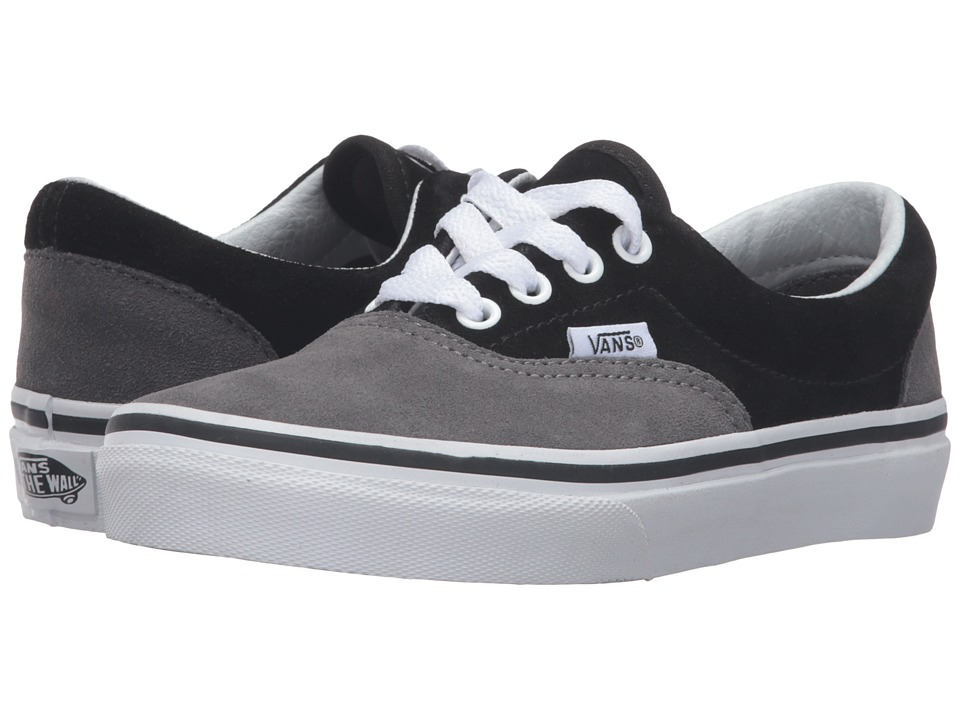 Vans Kids - Era (Little Kid/Big Kid) ((Suede) Pewter/Black) Boys Shoes