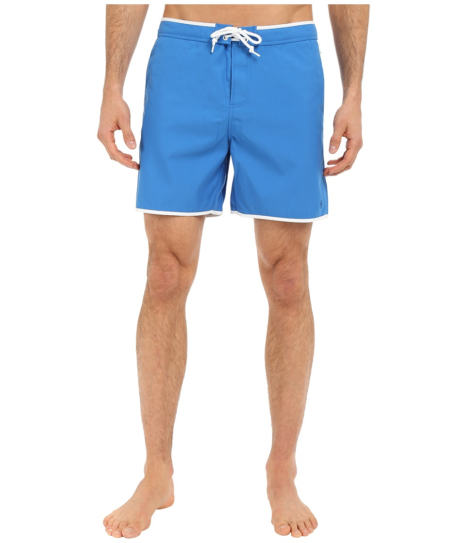 Original Penguin - Earl Fixed Volley Swim Shorts (Daphne) Men's Swimwear