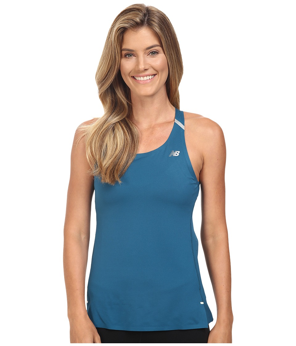 New Balance - Precision Run Top (Castaway) Women's Sleeveless
