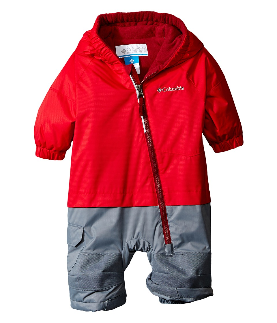 Columbia Kids - Little Dude Suit (Infant) (Mountain Red/Jester Red/Grey Ash) Kid's Jumpsuit & Rompers One Piece