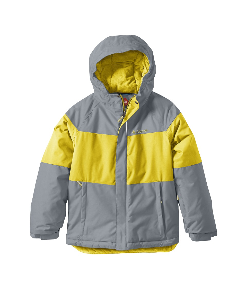 Columbia Kids - Alpine Action Jacket (Toddler) (Mineral Yellow/Grey Ash) Boy's Coat
