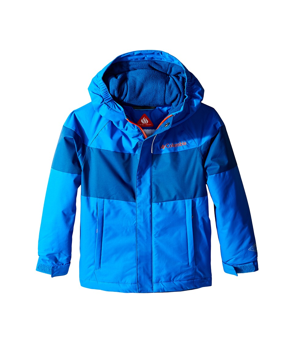 Columbia Kids - Alpine Action Jacket (Toddler) (Super Blue/Marine Blue/Tangy Orange) Boy's Coat