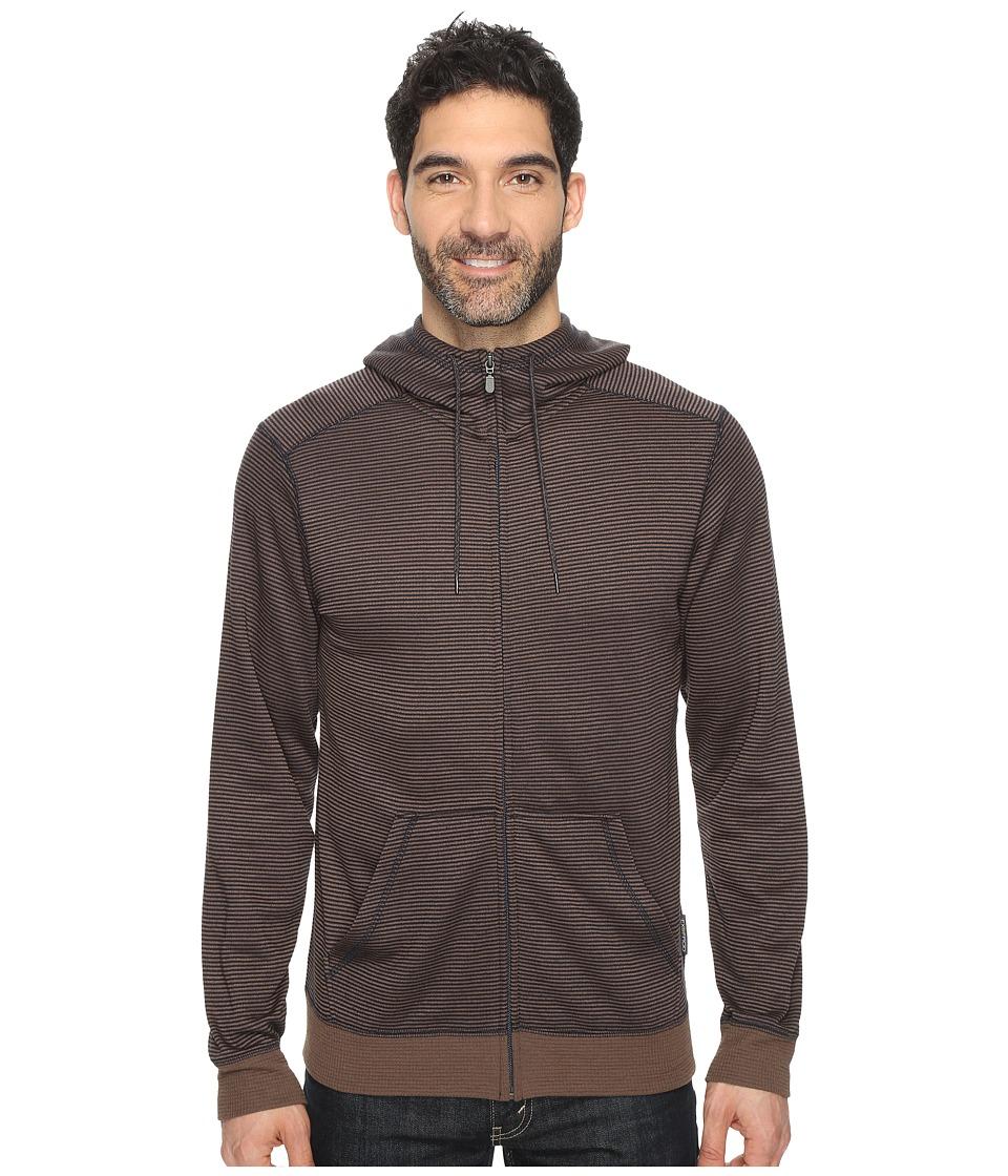 ExOfficio - Isoclime Full Zip Hoodie (Navy) Men's Sweatshirt