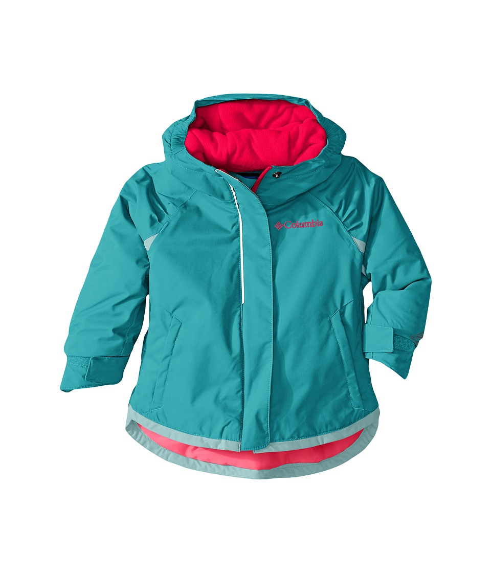 Columbia Kids - Alpine Action Jacket (Toddler) (Miami/Spray/Laser Red) Girl's Coat