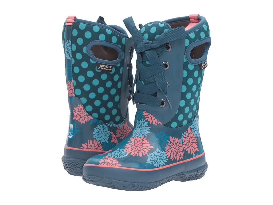 Bogs Kids - Casey Pompoms Dots (Toddler/Little Kid/Big Kid) (Legion Blue Multi) Girls Shoes