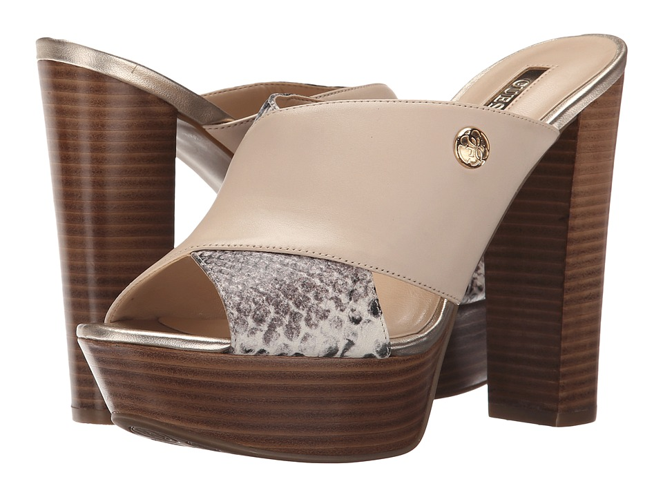 Womens Sandals GUESS Patrien Natural Leather
