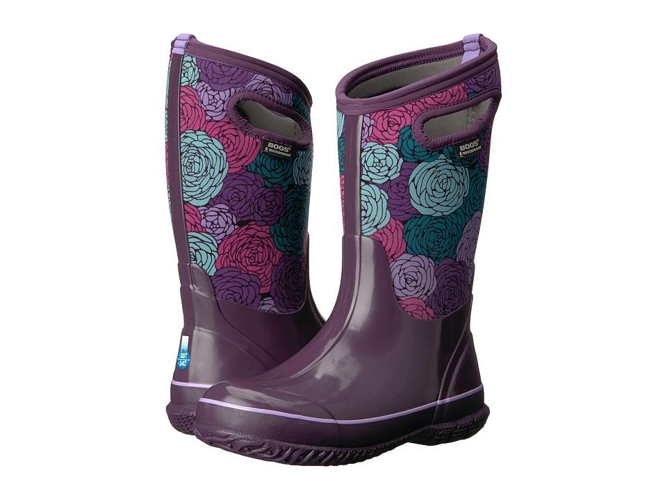 Bogs Kids - Classic Rosey (Toddler/Little Kid/Big Kid) (Black Multi) Girls Shoes