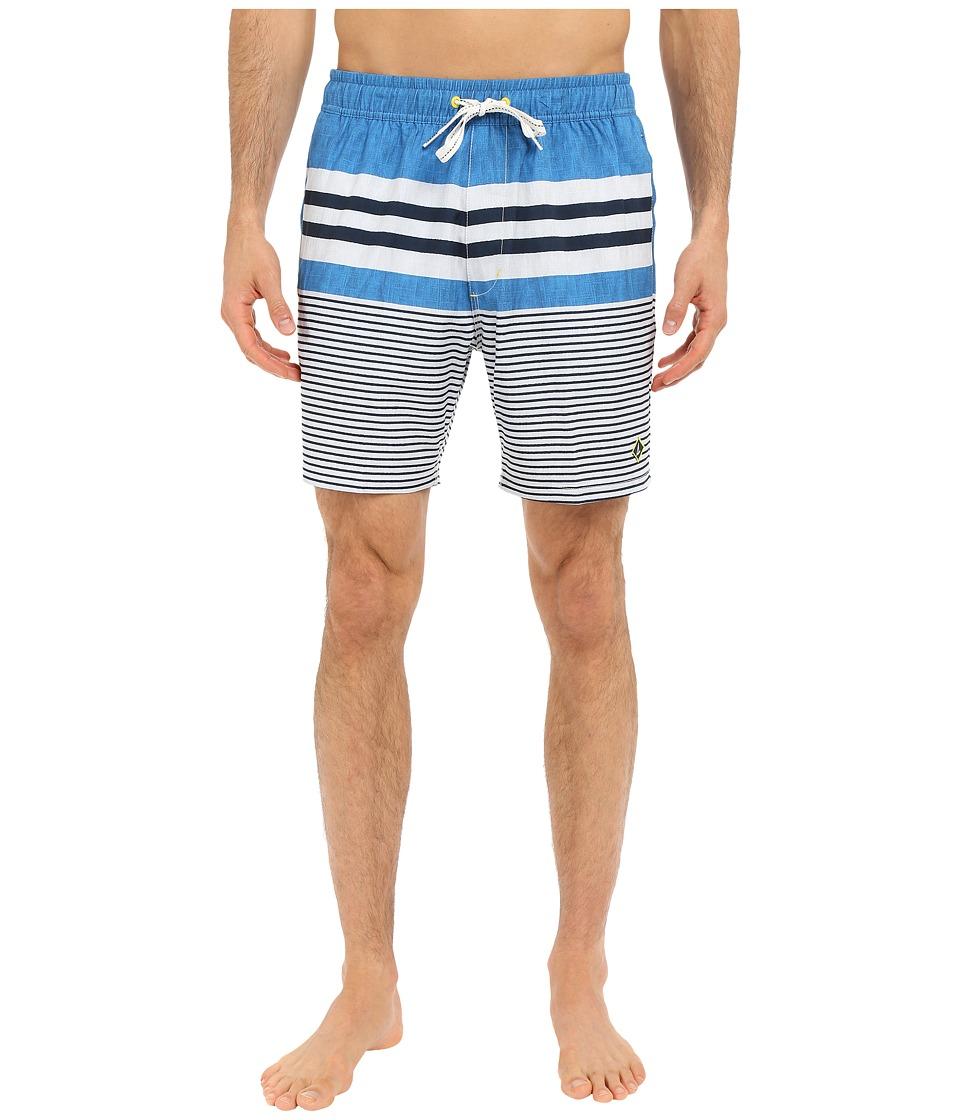 Sperry - Ship Shape Volley Shorts (Atlas) Men's Swimwear