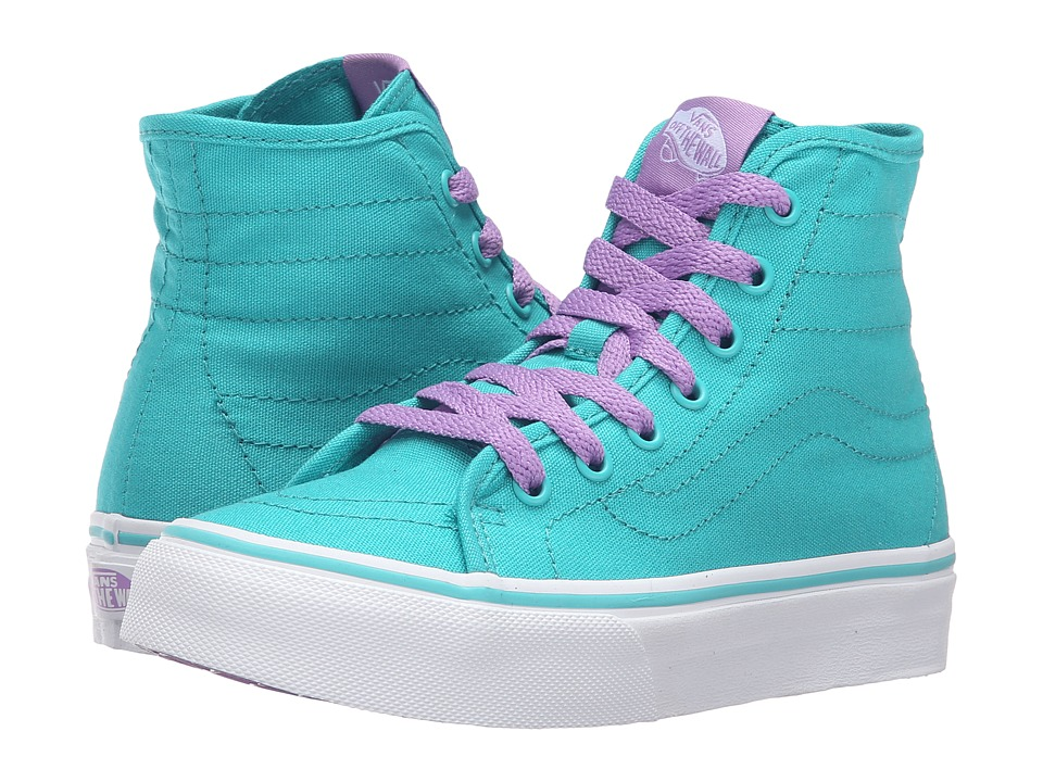 Vans Kids Sk8-Hi Decon (Little Kid/Big Kid) ((Pop) Ceramic/African Violet) Girls Shoes