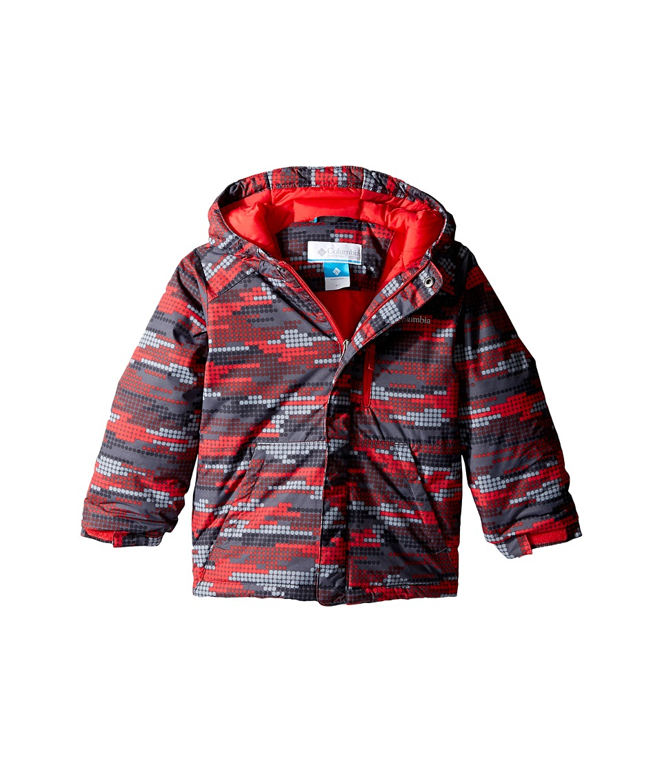 Columbia Kids - Lightning Lift Jacket (Toddler) (Mountain Red Dots) Boy's Coat