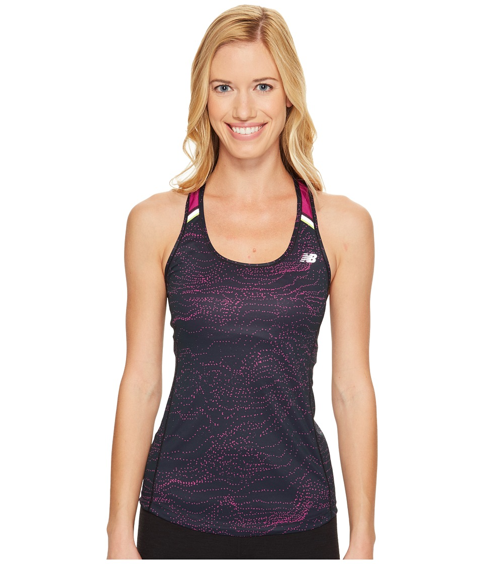New Balance - NB Ice Tank Top (Jewel Multi/Jewel) Women's Sleeveless