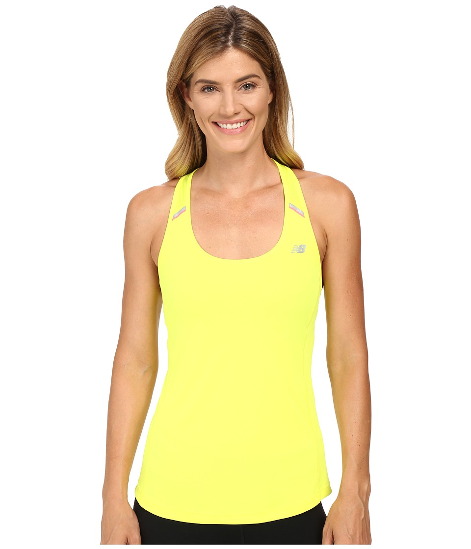 New Balance - NB Ice Tank Top (Firefly) Women's Sleeveless