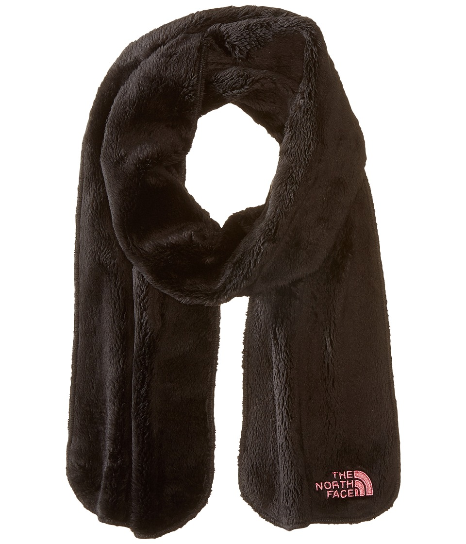 The North Face Kids - Girls Denali Thermal Scarf (Big Kids) (TNF Black/Cha Cha Pink) Scarves