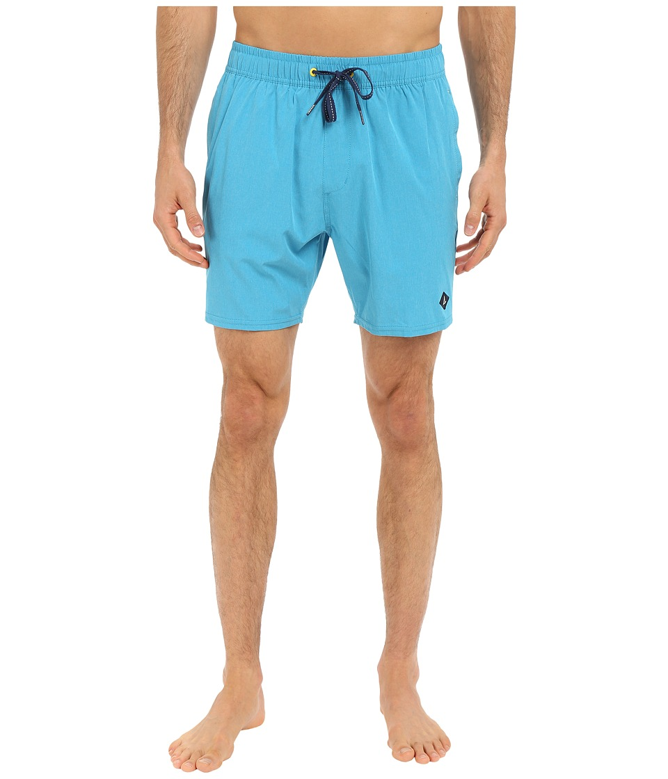 Sperry - Invisible Critter Solids Volley Shorts (Atlas) Men's Swimwear