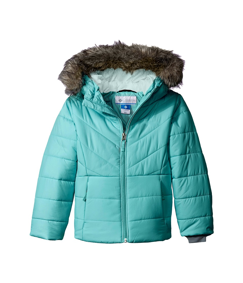 Columbia Kids - Katelyn Crest Jacket (Toddler) (Miami/Spray) Girl's Coat