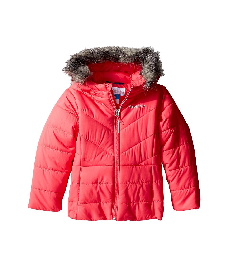 Columbia Kids - Katelyn Crest Jacket (Toddler) (Punch Pink) Girl's Coat