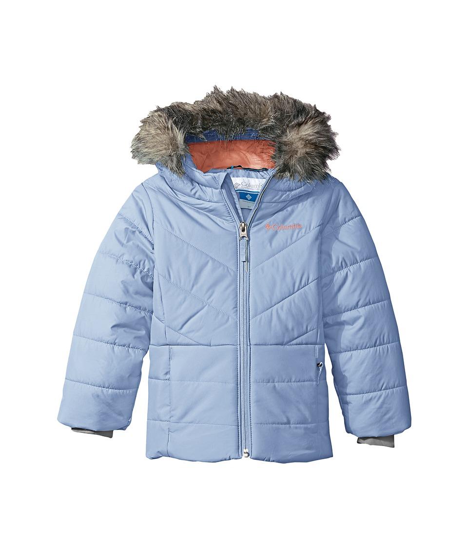 Columbia Kids - Katelyn Crest Jacket (Toddler) (Empress/Hot Coral) Girl's Coat