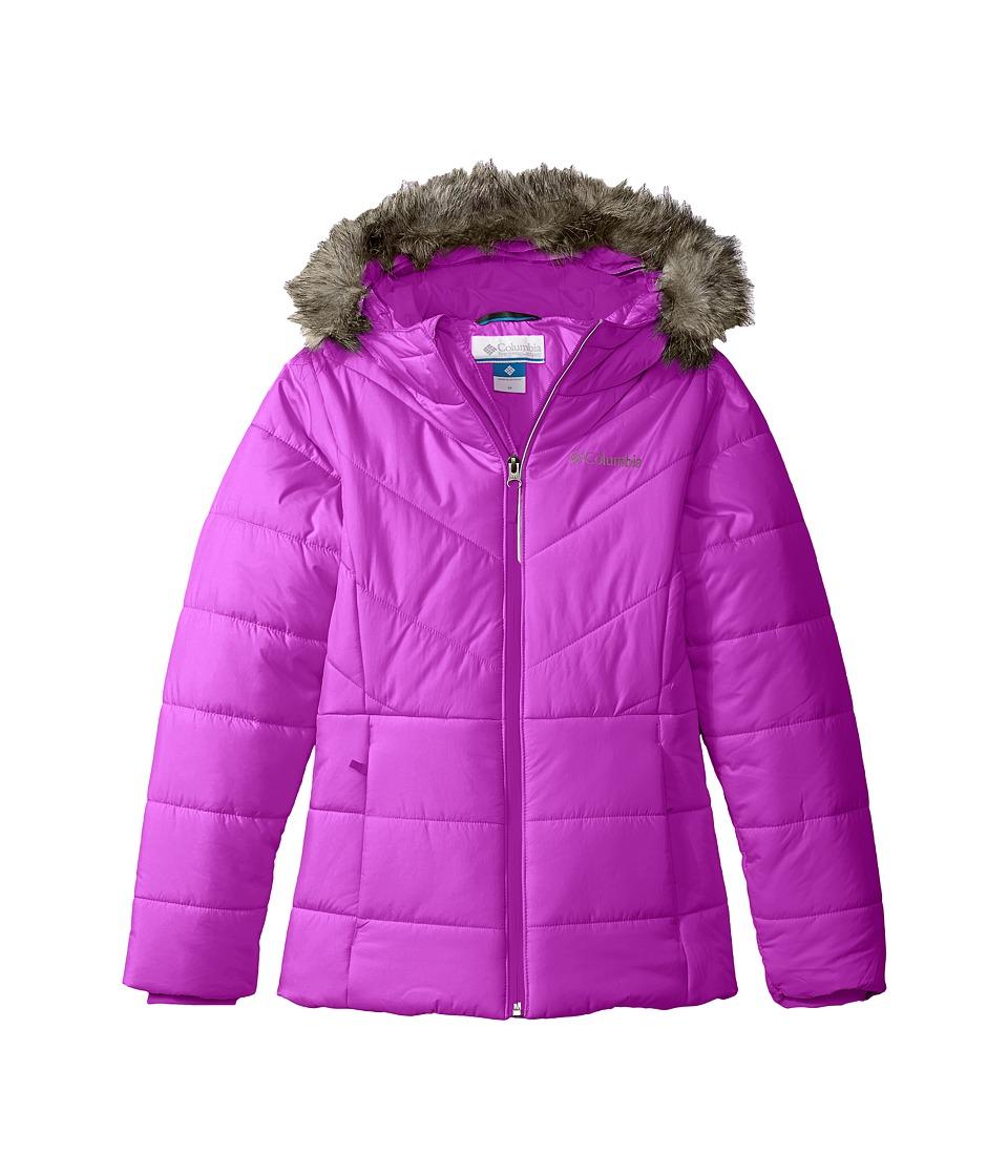 Columbia Kids - Katelyn Crest Jacket (Toddler) (Bright Plum) Girl's Coat