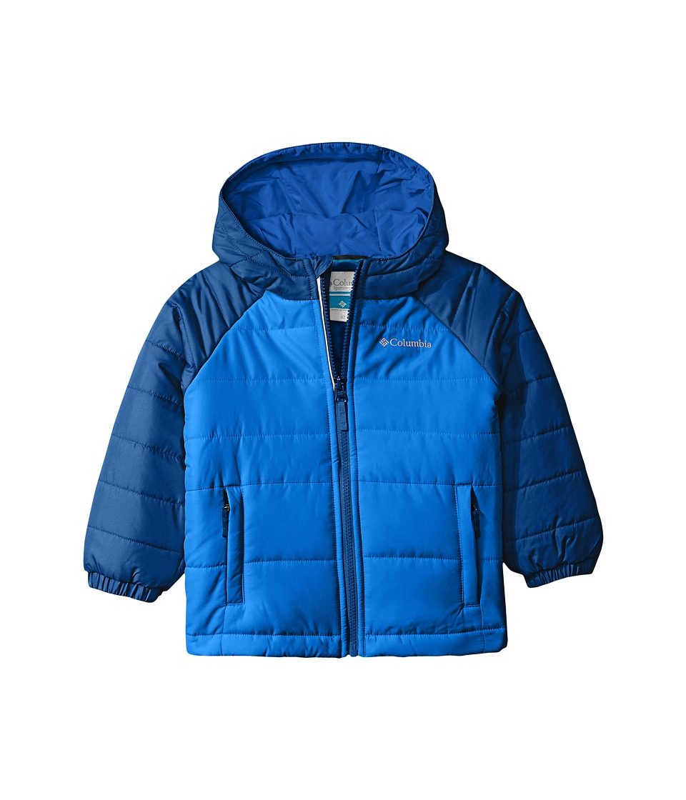 Columbia Kids - Tree Time Puffer Jacket (Toddler) (Super Blue/Marine Blue) Boy's Coat