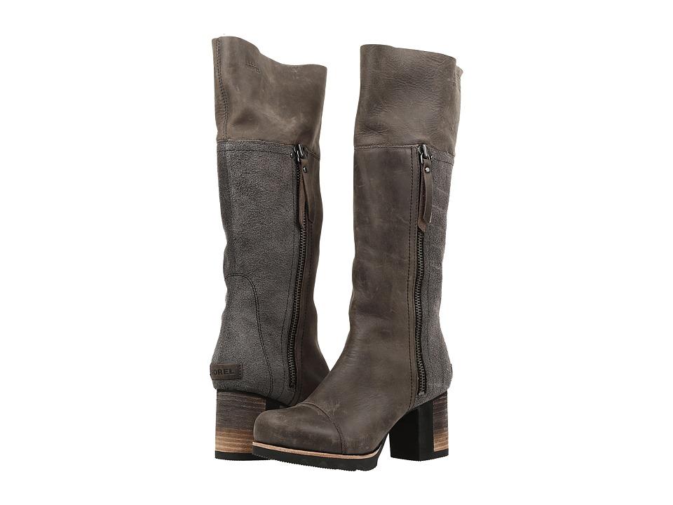SOREL - Addington Tall (Dark Grey) Women's Waterproof Boots